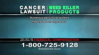 Knightline Legal TV Spot, 'Weed Killer Products' - Thumbnail 7