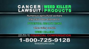 Knightline Legal TV Spot, 'Weed Killer Products' - Thumbnail 8