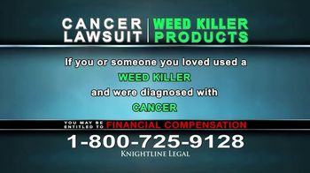 Knightline Legal TV Spot, 'Weed Killer Products' - Thumbnail 9