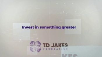 T.D. Jakes Foundation TV Spot, 'Invest in Something Greater' - Thumbnail 8