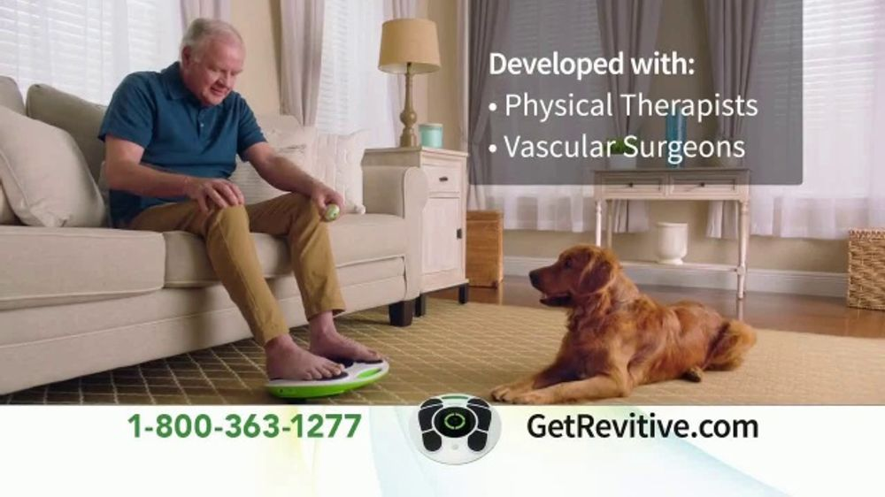 Revitive TV Commercial, 'Get Back on Your Feet: 60-Day Trial'