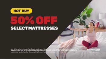 Mattress Firm 4th of July Sale TV Spot, 'Hot Buy: 50% Off' - Thumbnail 6