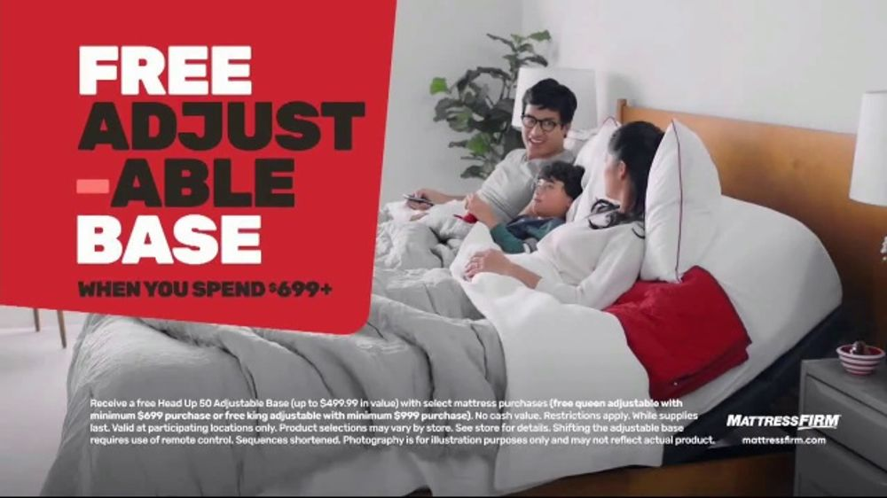 Mattress Firm 4th of July Sale TV Commercial, 'Hot Buy: 50 Percent Off'