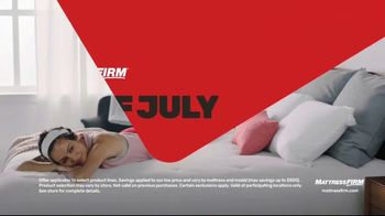 Mattress Firm 4th of July Sale TV Spot, 'Hot Buy: 50 Percent Off' - Thumbnail 2