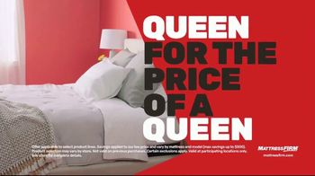 Mattress Firm 4th of July Sale TV Spot, 'Hot Buy: 50 Percent Off' - Thumbnail 3