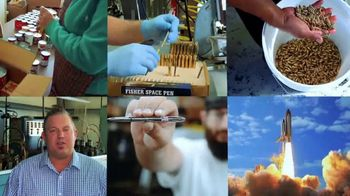 Fisher Space Pen Co. TV Spot, 'Antimicrobial Space Pens Sales Support Feeding America' - Thumbnail 10