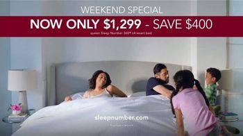 Sleep Number TV Spot, 'Weekend Special: Only $1,299: Save $400' - Thumbnail 9