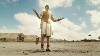 Credit One Bank Platinum Rewards Card TV Spot, 'God of Cash Back: Gas Station' - Thumbnail 3