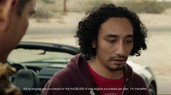 Credit One Bank Platinum Rewards Card TV Spot, 'God of Cash Back: Gas Station' - Thumbnail 6