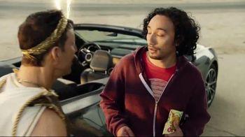 Credit One Bank Platinum Rewards Card TV Spot, 'God of Cash Back: Gas Station' - Thumbnail 8