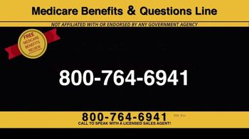 Medicare Benefits & Questions Line TV Spot, '2020 Medicare Advantage Plans: Questions Line Now Open' - Thumbnail 9