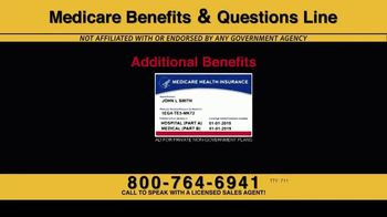 Medicare Benefits & Questions Line TV Spot, '2020 Medicare Advantage Plans: Questions Line Now Open' - Thumbnail 2