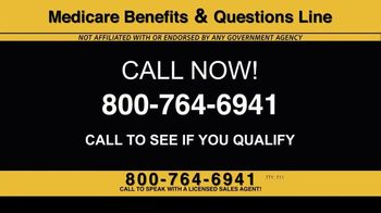Medicare Benefits & Questions Line TV Spot, '2020 Medicare Advantage Plans: Questions Line Now Open' - Thumbnail 3