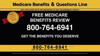Medicare Benefits & Questions Line TV Spot, '2020 Medicare Advantage Plans: Questions Line Now Open' - Thumbnail 4