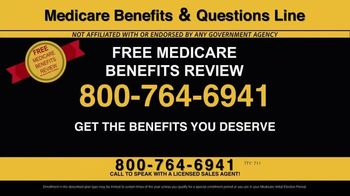 Medicare Benefits & Questions Line TV Spot, '2020 Medicare Advantage Plans: Questions Line Now Open' - Thumbnail 5