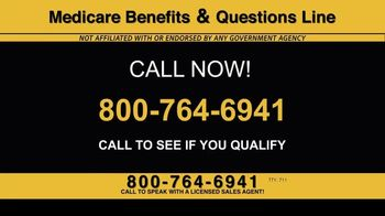 Medicare Benefits & Questions Line TV Spot, '2020 Medicare Advantage Plans: Questions Line Now Open' - Thumbnail 8
