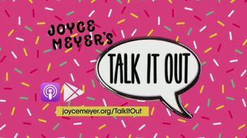 Joyce Meyer Ministries Talk It Out Podcast TV Spot, 'Join the Girls'