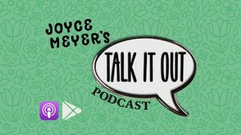 Joyce Meyer Ministries Talk It Out Podcast TV Spot, 'Join the Girls' - Thumbnail 1
