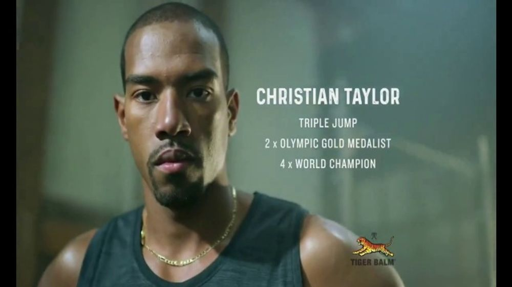 Tiger Balm Active TV Commercial, 'Active' Featuring Christian Taylor