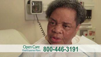 Open Care Insurance Services Final Expense Plan TV Spot, 'At Peace: Prescription Discount Card'