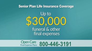 Open Care Insurance Services Final Expense Plan TV Spot, 'At Peace: Prescription Discount Card' - Thumbnail 8