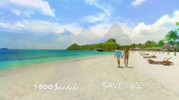 Sandals Resorts in Saint Lucia TV Spot, 'Play Around' Song by Bob Marley - Thumbnail 2