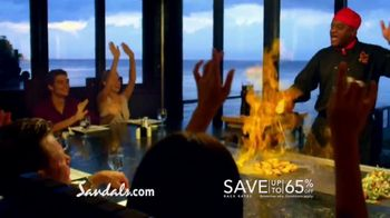 Sandals Resorts in Saint Lucia TV Spot, 'Play Around' Song by Bob Marley - Thumbnail 6