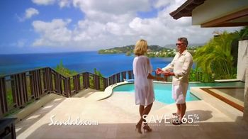Sandals Resorts in Saint Lucia TV Spot, 'Play Around' Song by Bob Marley - Thumbnail 8