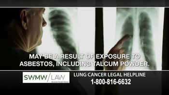 SWMW Law TV Spot, 'Talcum Powder: Mesothelioma' - Thumbnail 4