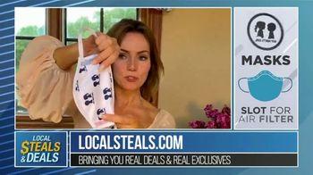 Local Steals & Deals TV Spot, 'Boy Meets Girl and Journee Well Masks' Featuring Lisa Robertson - Thumbnail 4