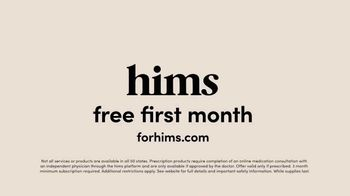 Hims TV Spot, 'Positive Reviews: Free First Month' - Thumbnail 9