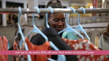 thredUP TV Spot, 'Secondhand Clothing: Up 50 Percent Off' - Thumbnail 9