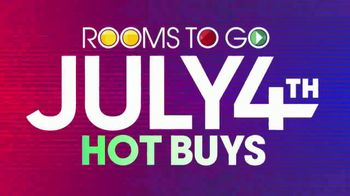 Rooms to Go July 4th Hot Buys TV Spot, 'Five Piece Bedroom Set: $1,577' - Thumbnail 8