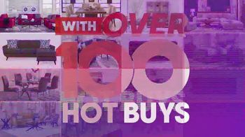 Rooms to Go July 4th Hot Buys TV Spot, 'Five Piece Bedroom Set: $1,577' - Thumbnail 3