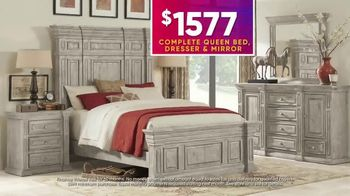 Rooms to Go July 4th Hot Buys TV Spot, 'Five Piece Bedroom Set: $1,577' - Thumbnail 5
