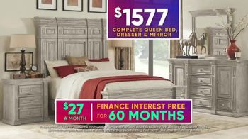 Rooms to Go July 4th Hot Buys TV Spot, 'Five Piece Bedroom Set: $1,577' - Thumbnail 6