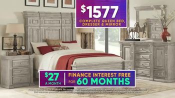 Rooms to Go July 4th Hot Buys TV Spot, 'Five Piece Bedroom Set: $1,577' - Thumbnail 7