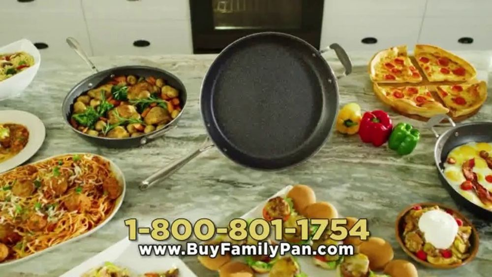 Granite Stone Family Pan TV Commercial, 'Just Like the Pros'