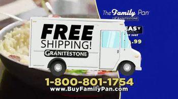Granite Stone Family Pan TV Spot, 'Just Like the Pros' - Thumbnail 10