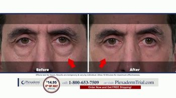 Plexaderm Skincare 4th of July Special TV Spot, 'Wow: $14.95' Featuring Annette Figueroa - Thumbnail 2