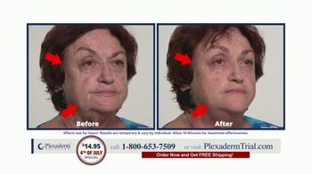 Plexaderm Skincare 4th of July Special TV Spot, 'Wow: $14.95' Featuring Annette Figueroa - Thumbnail 3