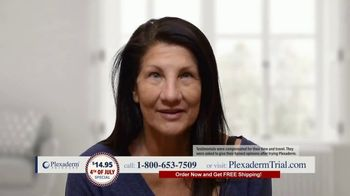 Plexaderm Skincare 4th of July Special TV Spot, 'Wow: $14.95' Featuring Annette Figueroa - Thumbnail 4