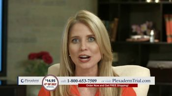 Plexaderm Skincare 4th of July Special TV Spot, 'Wow: $14.95' Featuring Annette Figueroa - Thumbnail 8