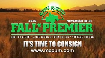 Mecum Gone Farmin' 2020 Fall Premier TV Spot, 'Best Time to Consign' - Thumbnail 7