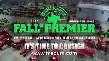 Mecum Gone Farmin' 2020 Fall Premier TV Spot, 'Best Time to Consign' - Thumbnail 2