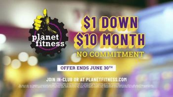 Planet Fitness TV Spot, 'Power Clean: $1 Down, $10 a Month' - Thumbnail 10