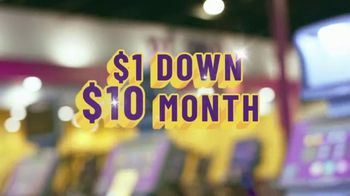 Planet Fitness TV Spot, 'Power Clean: $1 Down, $10 a Month'