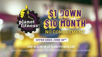 Planet Fitness TV Spot, 'Power Clean: $1 Down, $10 a Month' - Thumbnail 9
