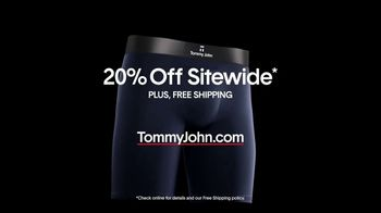 Tommy John TV Spot, 'The Daily Grind: 20% Off' - Thumbnail 8