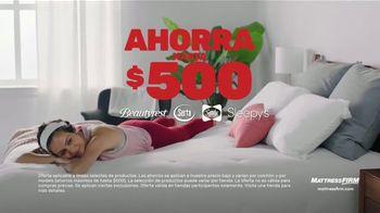 Mattress Firm Venta del 4 de Julio TV Spot, 'King a precio queen' [Spanish] - Thumbnail 2